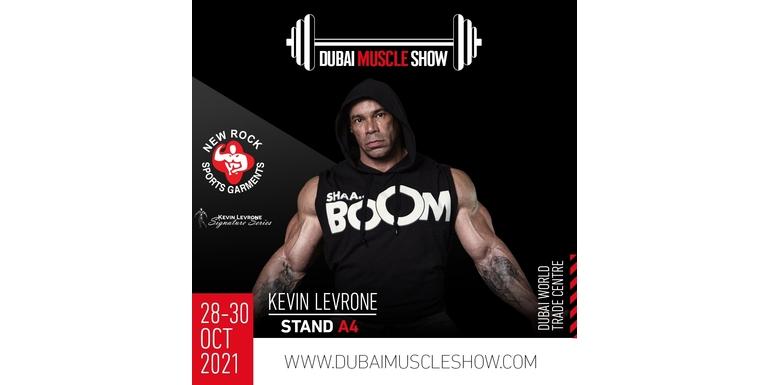 Spotkaj się z legendą podczas Dubai Muscle Show